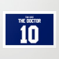 david tennant Art Prints featuring Team Tennant by trekvix