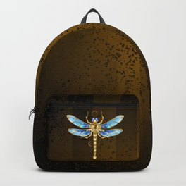 Mechanical Dragonfly ( Steampunk ) Backpack