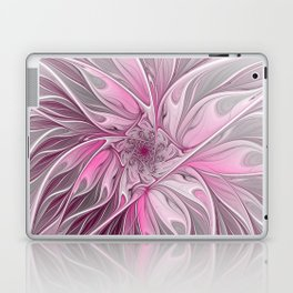 Abstract Pink Floral Dream Laptop & iPad Skin