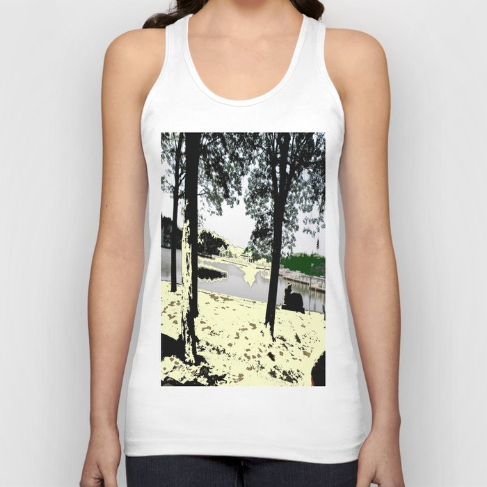 A Pleasant Day Unisex Tank Top