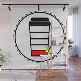 Coffee sticker, Wall Mural