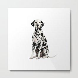 Cute Dalmatian 7 Metal Print