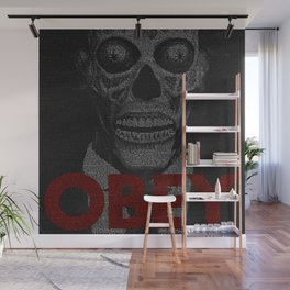 They Live. Obey. Screenplay Print. Wall Mural