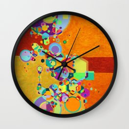 Sibling in Dirt Wall Clock