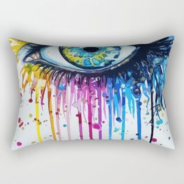 Color eyes Rectangular Pillow