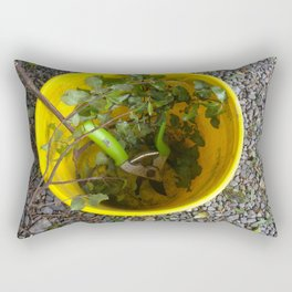 Gardening Bucket Rectangular Pillow