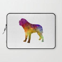 Saint Bernard in watercolor Laptop Sleeve