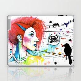 Lora Zombie Laptop & iPad Skin