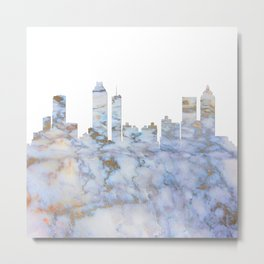 Atlanta Skyline Georgia Metal Print