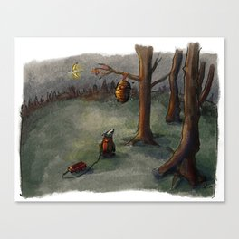 Not the bees! Canvas Print