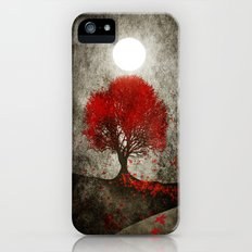Red autumn. Slim Case iPhone (5, 5s)