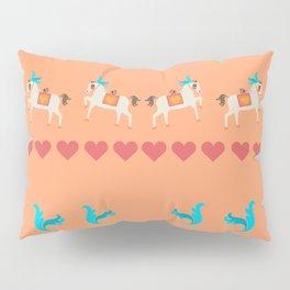 GENTLE  HORSE AND FELLOW BIRD Pillow Sham