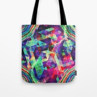 carnival Tote Bags featuring Carnival by Truly Juel