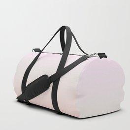 Pastel Millennial Pink Beige Ombre Gradient Pattern Duffle Bag