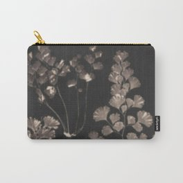 Black Maidenhair Carry-All Pouch