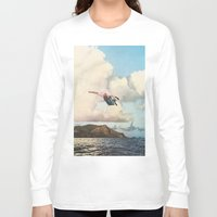 fall Long Sleeve T-shirts featuring Fall by Sarah Eisenlohr
