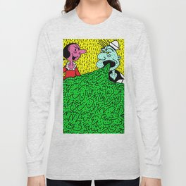 TOO MUCH SPINACH. Long Sleeve T-shirt