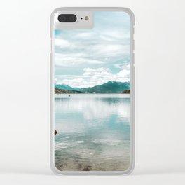 Lake Wenatchee, Washington Clear iPhone Case