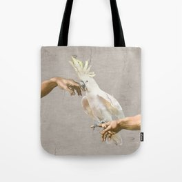 love hurts - cockatoo Tote Bag