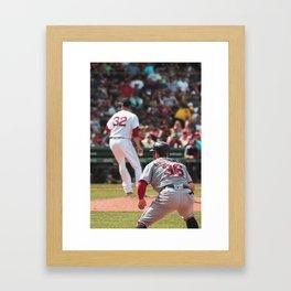 Boston Redsox Poster Framed Art Print