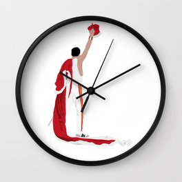 Freddie M. Crown Wall Clock
