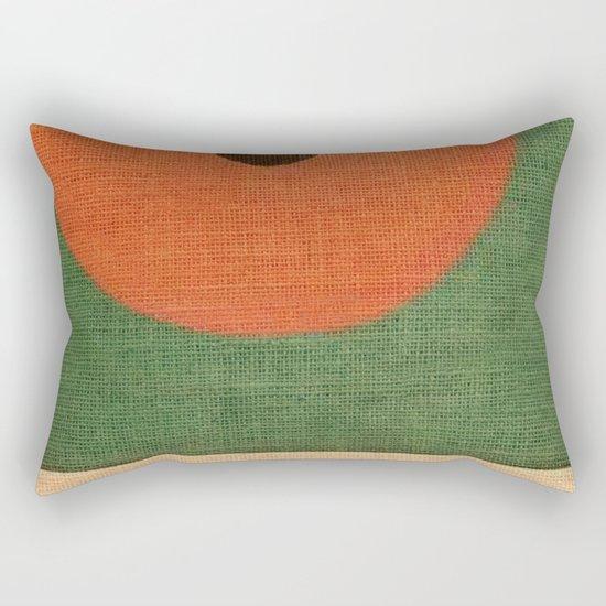Simple Circle Rectangular Pillow