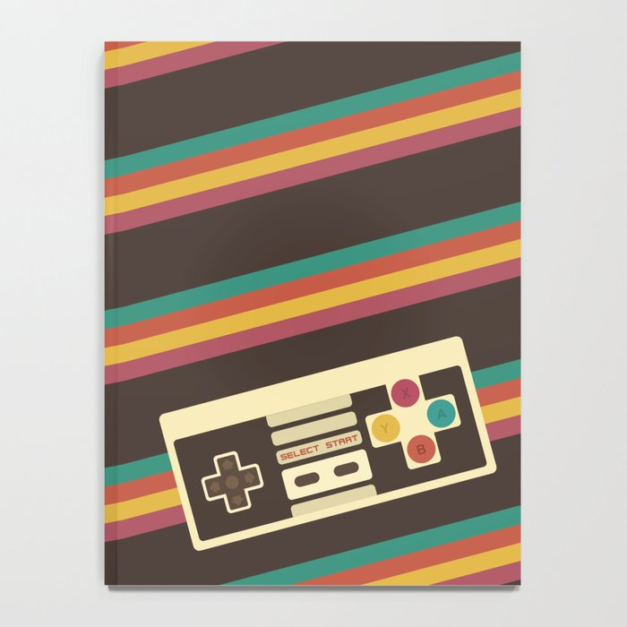Retro Video Game 2 Notebook