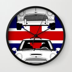 Mini, new and old Wall Clock