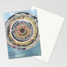 Round Sea Stationery Cards