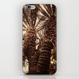 Sepia Palms iPhone Skin