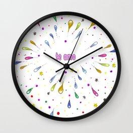 Te Amo Mi Amor Wall Clock