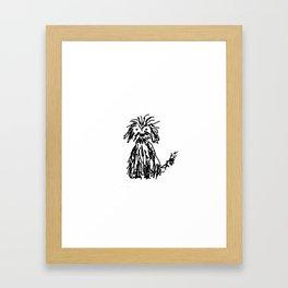 Doggy day Gerahmter Kunstdruck