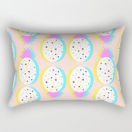 Pastel pineapples Rectangular Pillow