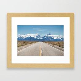 El Chaltén - Patagonia Argentina Framed Art Print