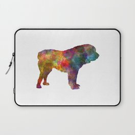 Central Asian Shepherd Dog in watercolor Laptop Sleeve