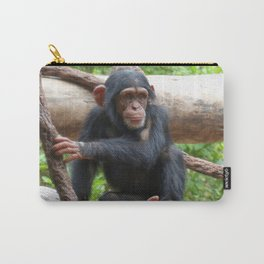 Chimpanzee_20150503_by_JAMFoto Carry-All Pouch