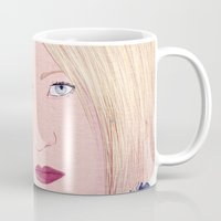 karen Mugs featuring ICE Poster (Karen) by CharlieAmber