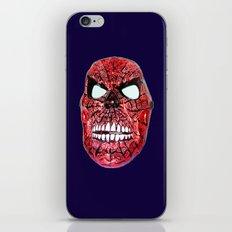 Spidey Skull iPhone & iPod Skin