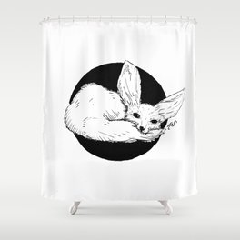 Shy Shower Curtain