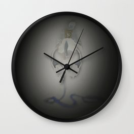 music girl Wall Clock