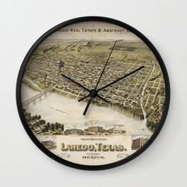 Laredo 1892 Wall Clock