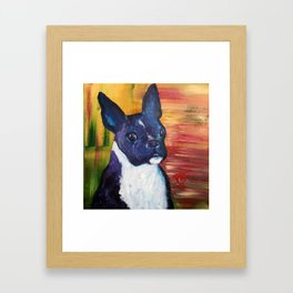 Bimmer The Bestest! Framed Art Print