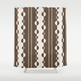 Chocolate Brown Shower Curtains