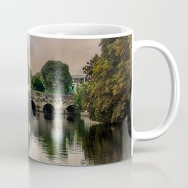 Above The Bridge In Abingdon Coffee Mug