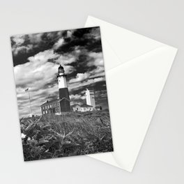 """Montauk Point Lighthouse """"The end"""" Stationery Cards"""