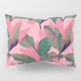 Retro Luxe Lilies Pink Pillow Sham