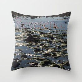 Reverence for Life Throw Pillow