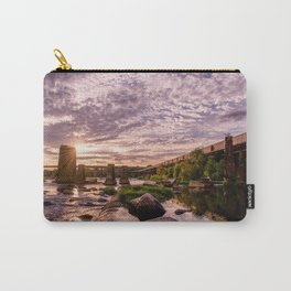 James River Sunset Carry-All Pouch