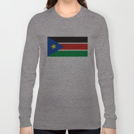 south sudan flag Long Sleeve T-shirt