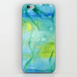 Mermaid´s Grotto Watercolor iPhone Skin